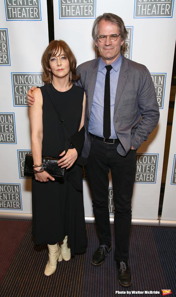 Kristin Flanders and Bartlett Sher