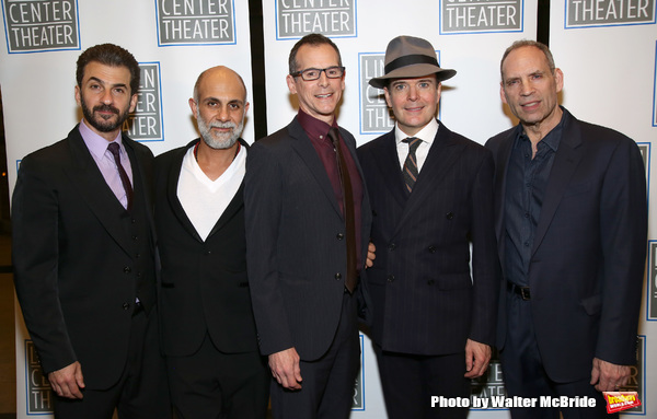 Michael Aronov, Anthony Azizi, T. Ryder Smith, Jefferson Mays and Daniel Oreskes