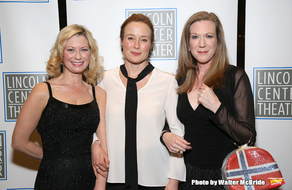 Angela Pierce, Jennifer Ehle and Henny Russell