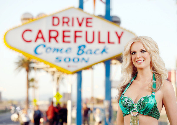 Photo Flash: Britney Spears Says Goodbye to Sin City with Madame Tussauds Las Vegas