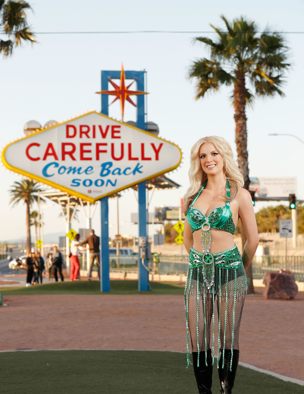 Madame Tussauds Las Vegas bids farewell to Britney Spears Las Vegas residency and celebrates the show by unveiling her newly styled wax figure