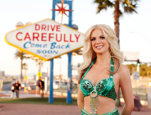 Madame Tussauds Las Vegas bids farewell to Britney Spears Las Vegas residency and cel Photo