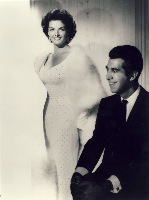 Mr. Blacwell with client Jane Russell Photo