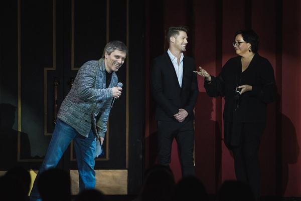 Dimitry Bogachev, Spencer Liff and Annette Tanner Photo