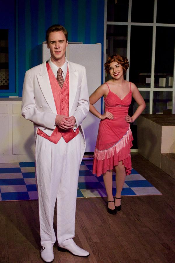 Aaron J. Brown and Paige Gagliardi