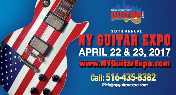 6th Annual NY Guitar Expo Set for Freeport Rec Center This Month