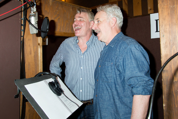 Photo Coverage: The Broadway Beauties of WAR PAINT Hit the Recording Studio!