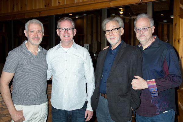 Scott Frankel, Bruce Coughlin, Michael Korie, Doug Wright Photo
