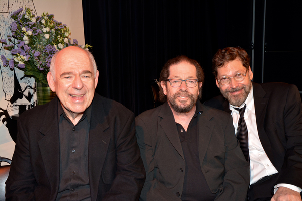 Lenny Wolpe, Jonathan Hadary and David Staller