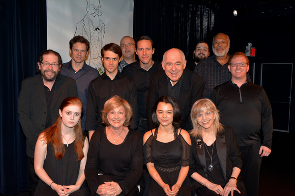 Stage Managers Jack Cummins and Craig Rosenthal and Associate  Stephen Brown-Fried join tonight's cast-Susannah Perkins, Michele Pawk, Midori Francis, Susan Haskins-Doloff, Jonathan Hadary, Tony Roach, Tom Duke, Marc Levasseur, Lenny Wolpe and Rap