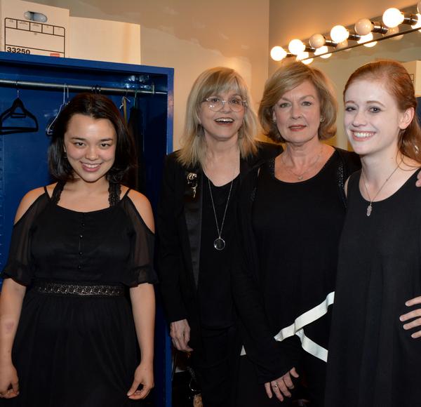 Midori Francis, Susan Haskins-Doloff, Michele Pawk and Susannah Perkins