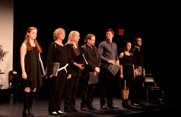 Susannah Perkins, Michele Pawk, Susan Haskins-Doloff, Jonathan Hadary, Tony Roach, Midori Francis and Tom Duke