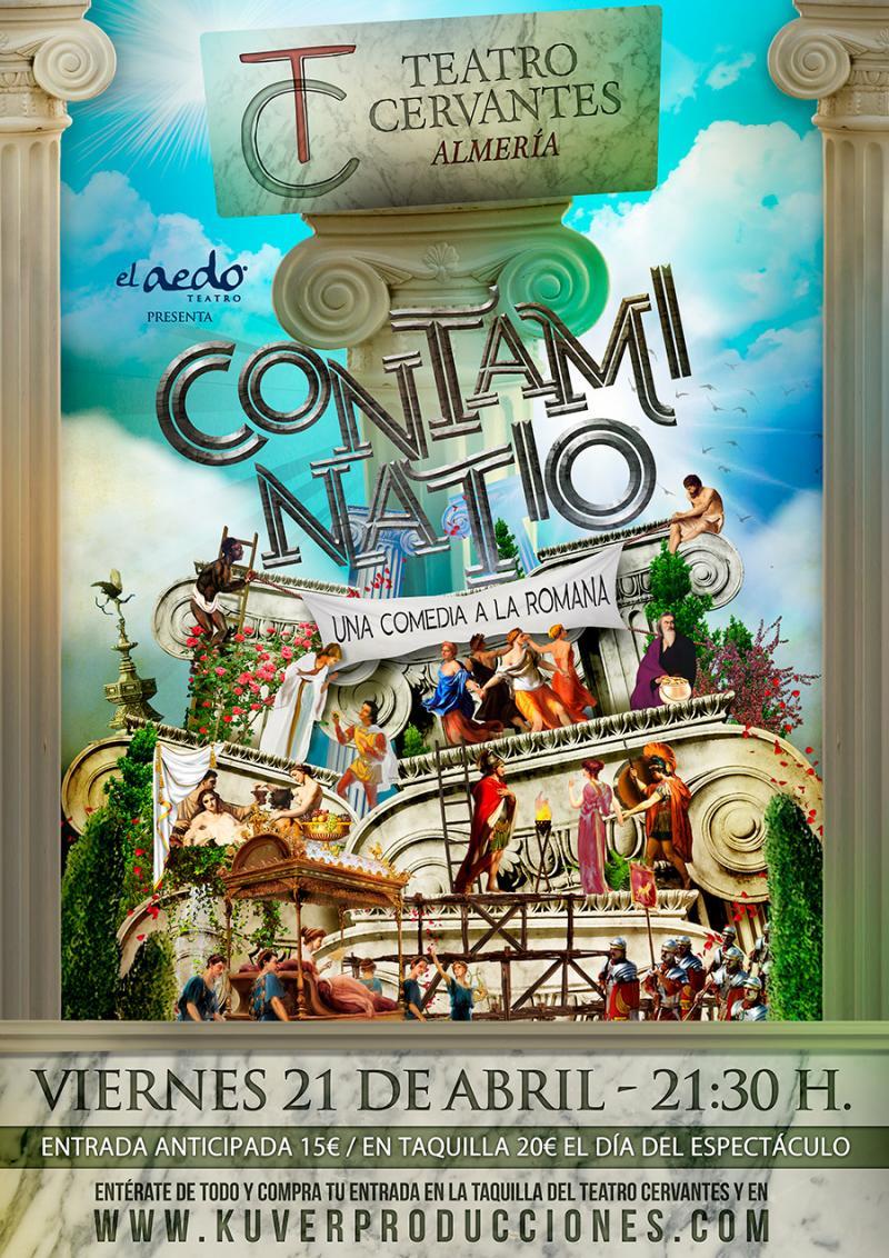 CONTAMINATIO llega al Teatro Cervantes de Almería