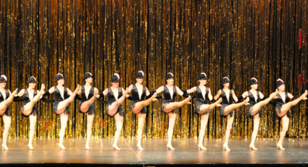 The World Famous Precision Dancers perform at Remembering the 40s at Reagle Music The Photo
