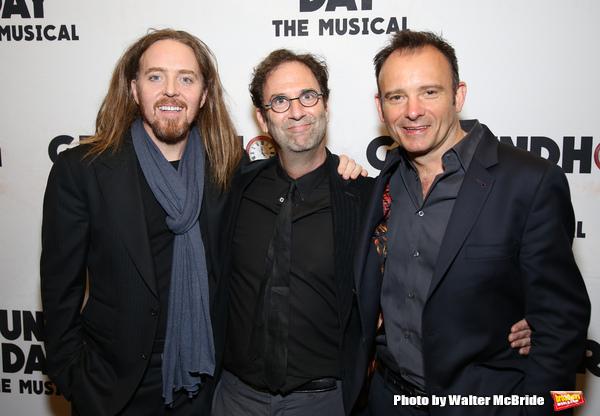Tim Minchin, Danny Rubin and Matthew Warchus