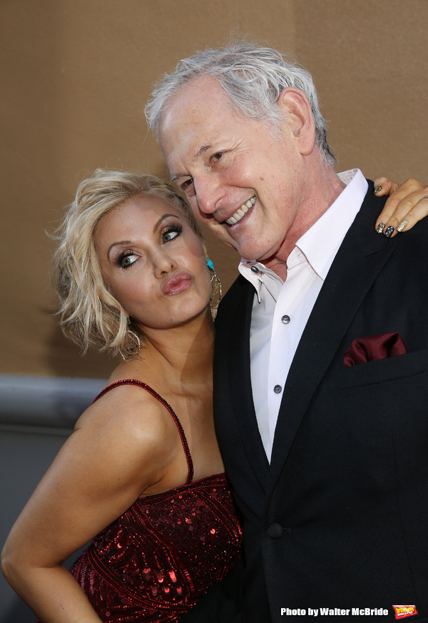 Orfeh and Victor Garber