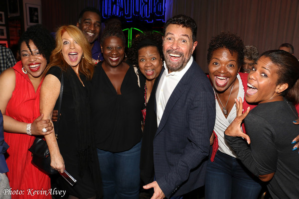 Charenee Wade, Kelly Clinton Holmes, Norm Lewis, Capathia Jenkins, Aisa de Haas, Clint Holmes and LaChanze