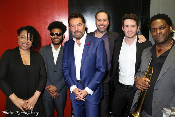 Charenee Wade, Mark Whitfiled, Jr., Clint Holmes, Christian Tamburr, David Ostrem and Photo