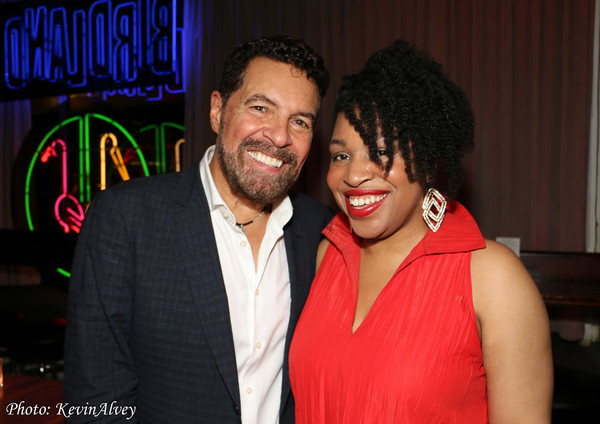 Clint Holmes and Charenee Wade