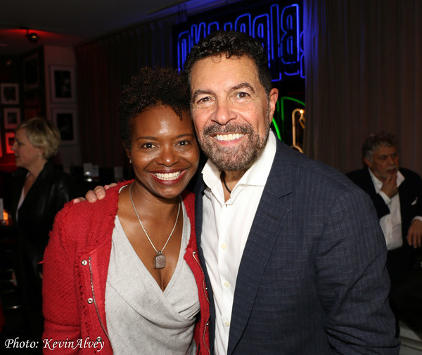 LaChanze and Clint Holmes