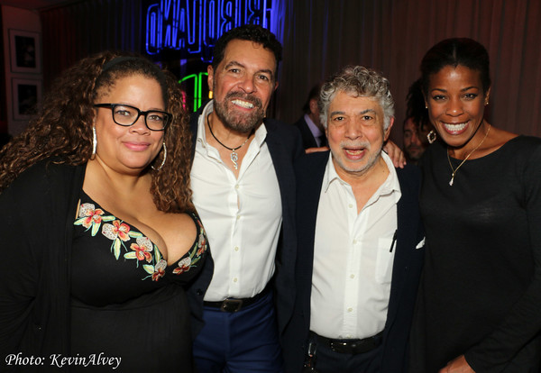 Natalie Douglas, Clint Holmes, Monty Alexander and Nicole Henry Photo