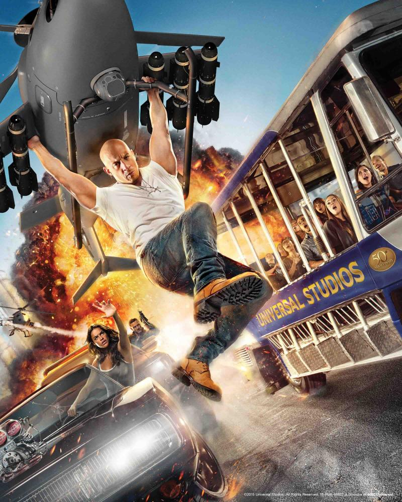 Universal Studios Hollywood is Headquarters for Blockbuster Movie THE FAST AND THE FURIOUS