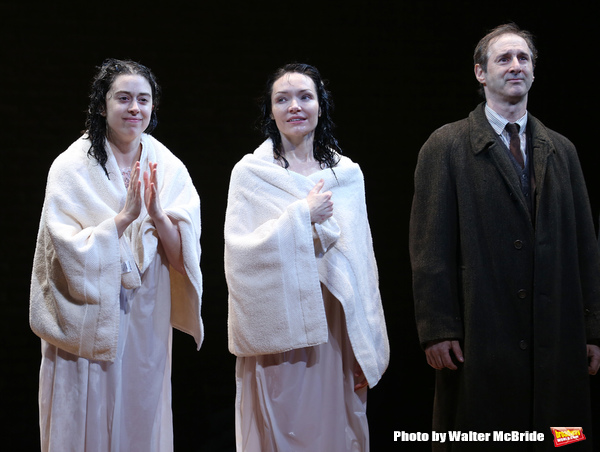 Adina Verson, Katrina Lenk and Richard Topal