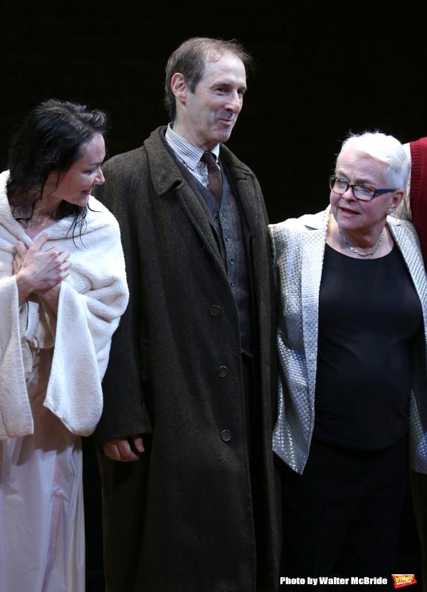 Katrina Lenk, Richard Topal and Paula Vogel