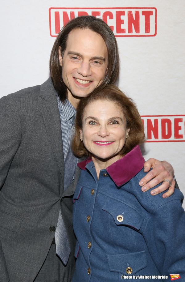 Jordan Roth and Tovah Feldshuh