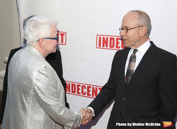 Paula Vogel and Bob Balaban