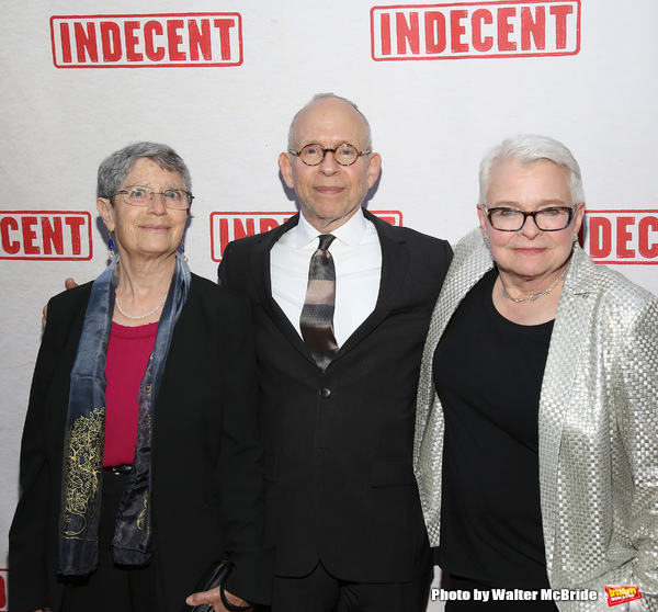 Anne Fausto-Sterling, Bob Balaban and Paula Vogel