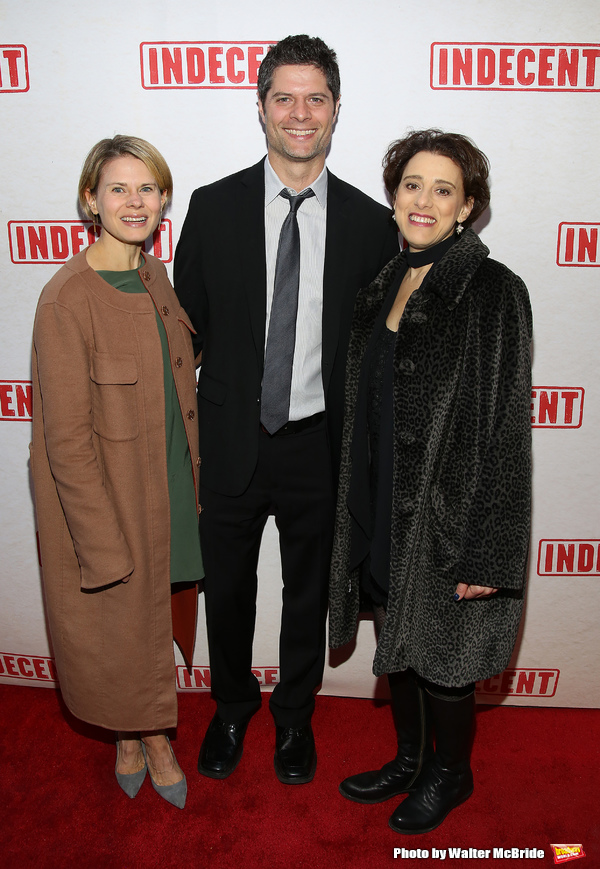 Celia Keenan-Bolger, Tom Kitt and Judy Kuhn
