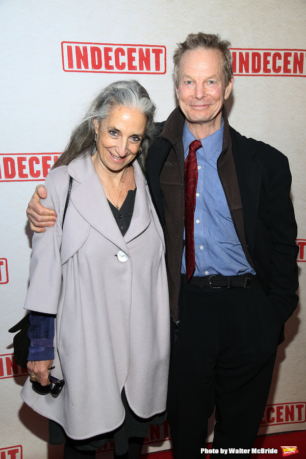 Bill Irwin and wife