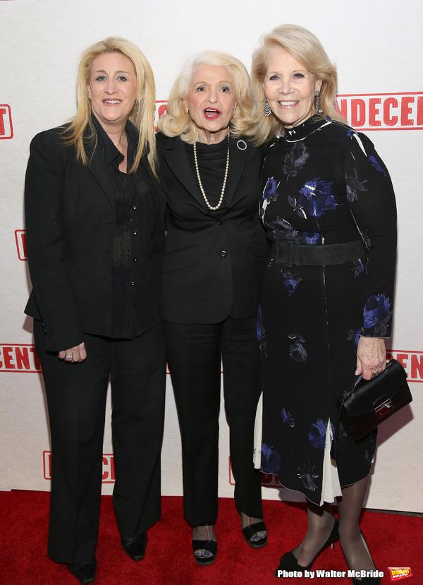 Judith Kasen, Edie Windsor and Daryl Roth Photo