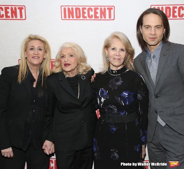 Judith Kasen, Edie Windsor, Daryl Roth and Jordan Roth Photo