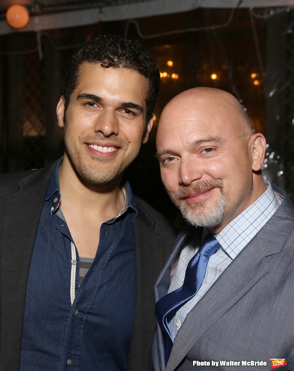 Joel Perez and Michael Cerveris