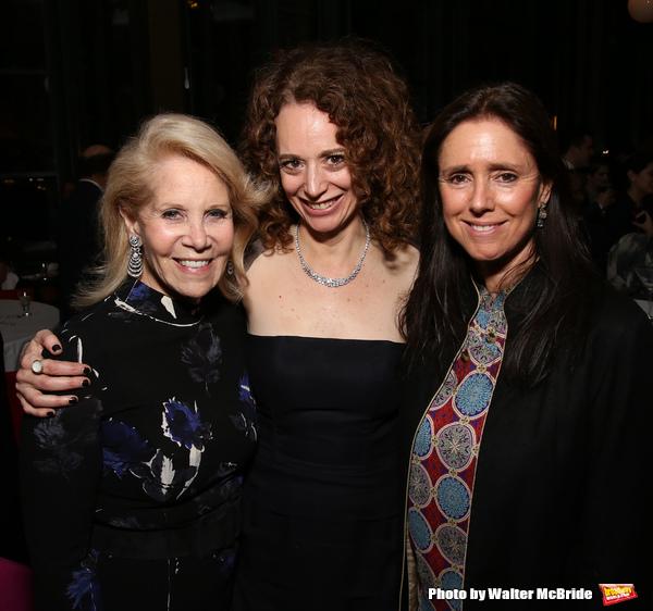 Daryl Roth, Rebecca Taichman and Julie Taymor
