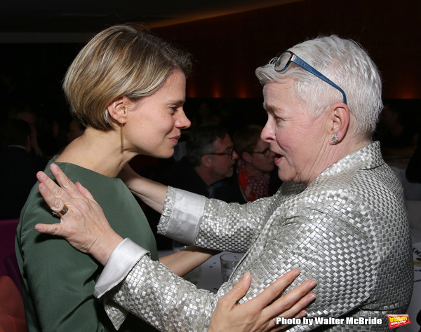 Celia Keenan-Bolger and Paula Vogel