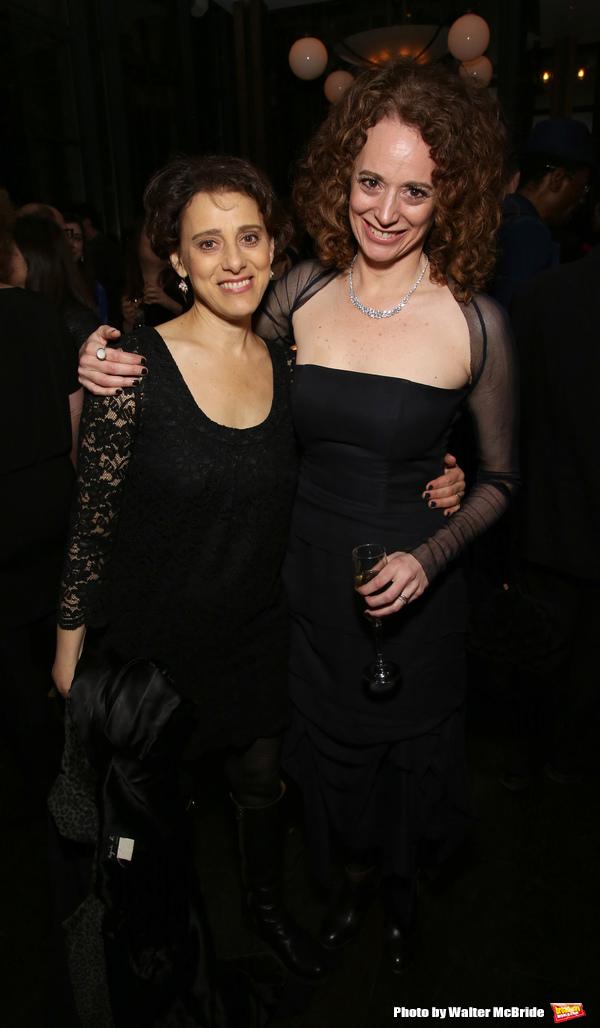 Judy Kuhn and Rebecca Taichman