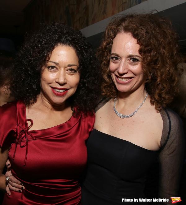 Mimi Lieber and Rebecca Taichman