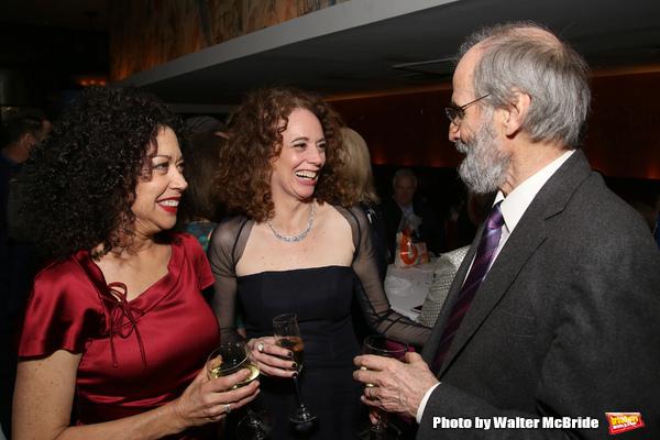 Mimi Lieber, Rebecca Taichman and Daniel J. Sullivan