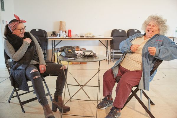 Frances Barber and Miriam Margolyes