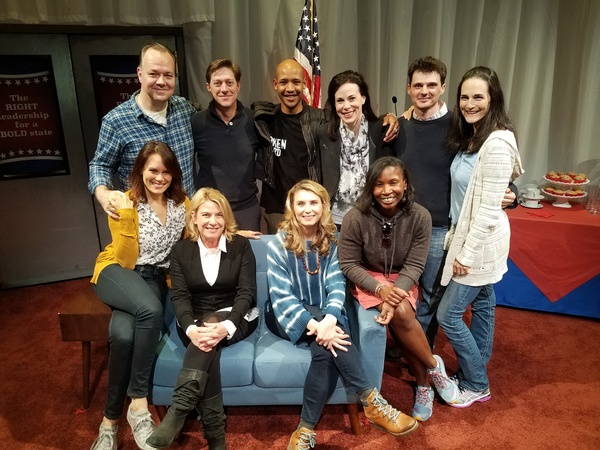 Photo Flash: Stars of MADAM SECRETARY and More Stop by CHURCH & STATE Off-Broadway