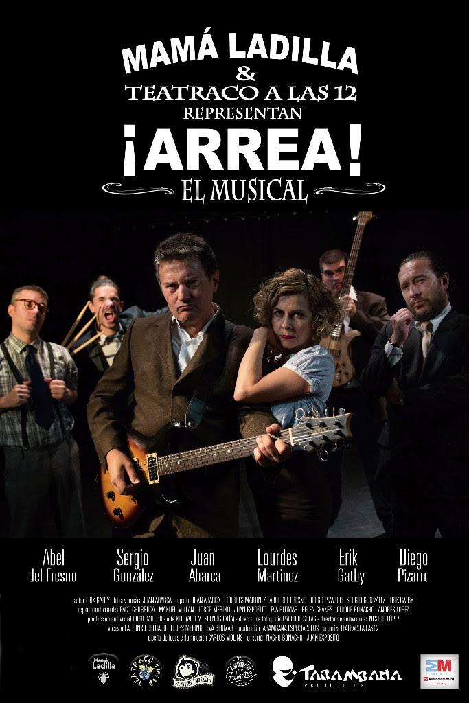 ¡ARREA!, el musical de MAMÁ LADILLA en los Teatros Luchana