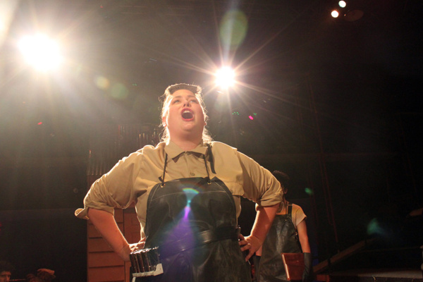 Photo Flash: First Look at Theatre Wesleyan's Immersive, 360-Degree URINETOWN: THE MUSICAL