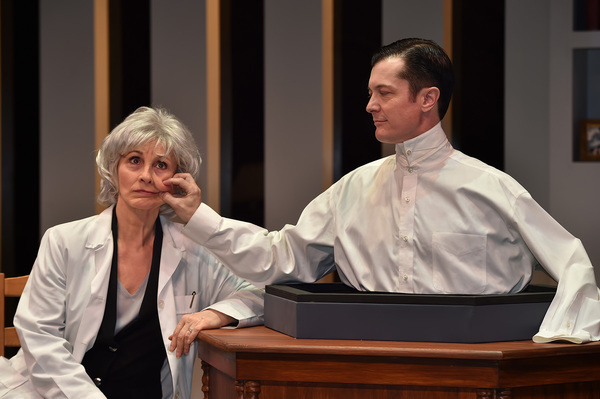 Susan Denaker and Jacob Sidney star in the Uncanny Valley, directed by Caryn Desai at Photo