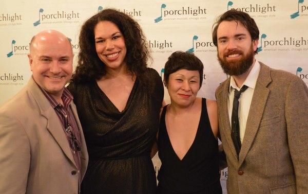 Michael Weber, Bethany Thomas, Jess McLeod, and Austin Cook Photo