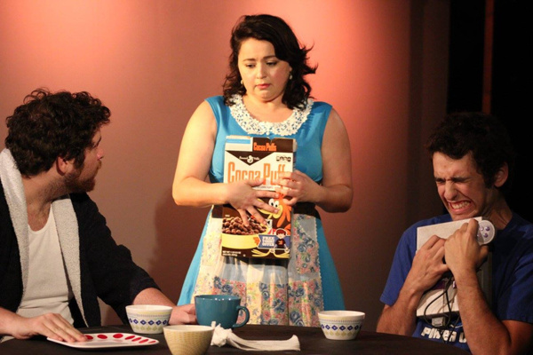 Zachary Braver, Laura Moreno and Nick Pinelli