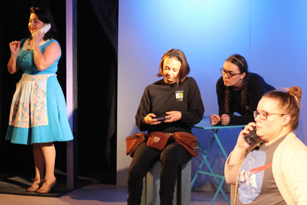 Laura Moreno, Bailey Hampton, Sundi Lee and Cindy Lou Parker Photo