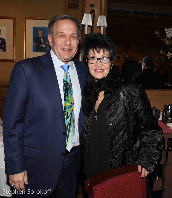 Jeff Leibowitz & Chita Rivera Photo